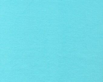 Solid Blue Flannel - Cloud9 Flannel - Cloud9 Fabrics - Organic Cotton Flannel
