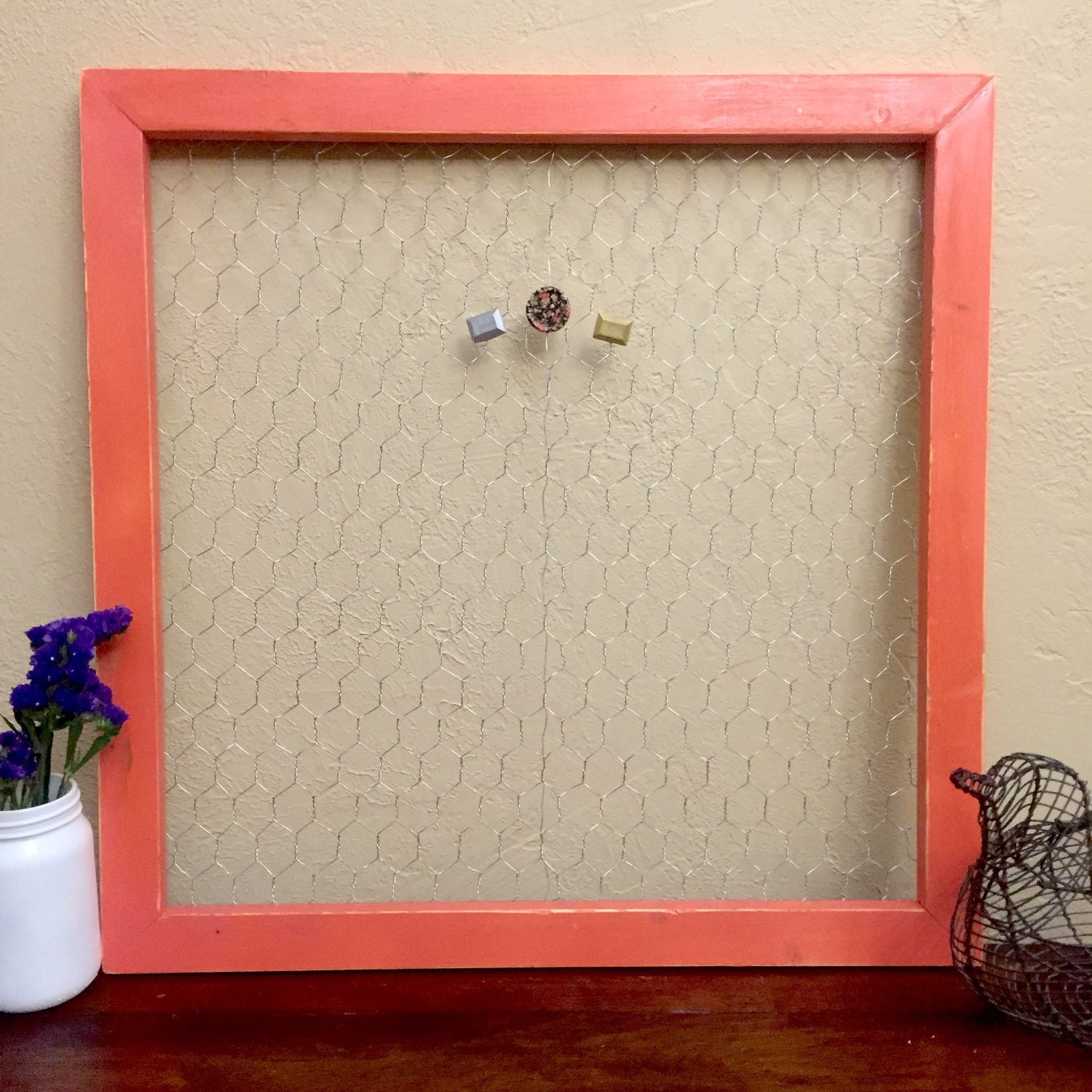 Famous Chicken Wire Frame Ideas Ornament - Electrical Diagram Ideas ...