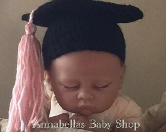 Crochet graduation cap