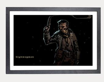 Darkest Dungeon Highwayman poster print