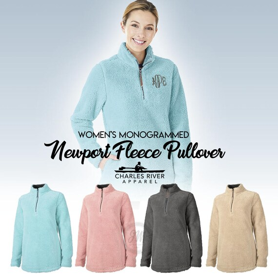 Men's Fleece Sweater, Newport Sherpa Pullover, Gift For Him, Fleece Jacket, Mens Pullover, Charles River Fleece Jacket, Valentines for him