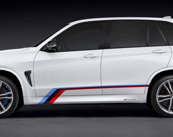"""BMW X5M F85 side graphics and decals kits """"BMW M Design Edition"""""""