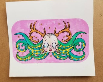 Personal Monster Vinyl Sticker 5inches