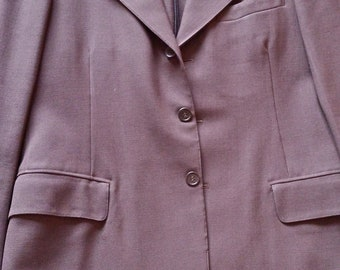 Straight jacket American men Brown 1940 good condition
