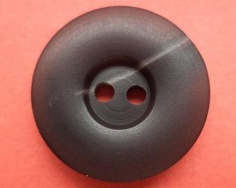 10 dark brown buttons 20mm (1575) button Brown
