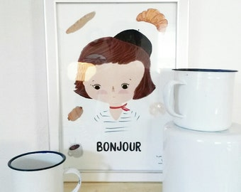 Print- Le petit Déjeuner-
