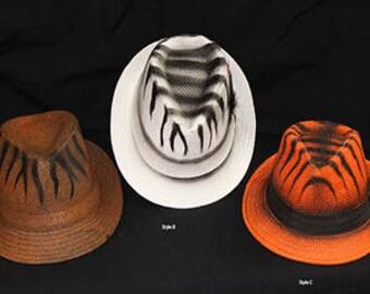 Tiger Stripe Jungle hats