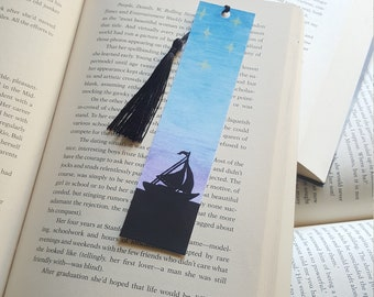 Beautiful Handmade Sail Boat Bookmark