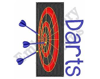 Dart Board - Machine Embroidery Design