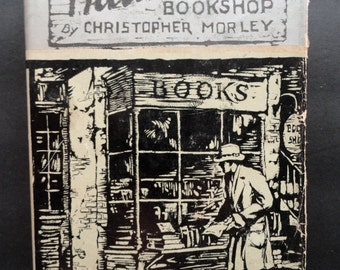 The Haunted Bookshop by Christopher Morley, First Edition, 1919