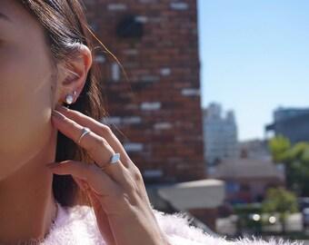 Dot Hoop Earrings