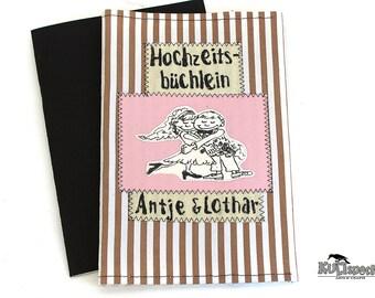 Wedding-Minialbum, Pocket Album wedding, brag book weddingphotos, scrapbook retro, shabby style mini album, Pocket-Album photo gift