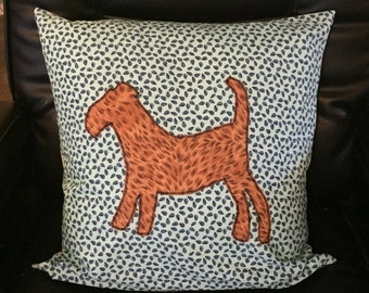 Airedale Lakeland Welsh Terrier Cushion Cover