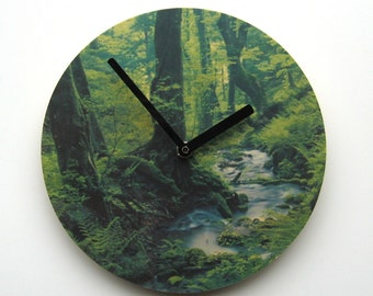 Objectify Forest Wall Clock