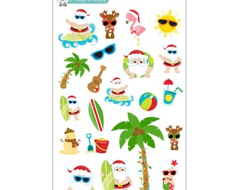 Christmas in July Stickers