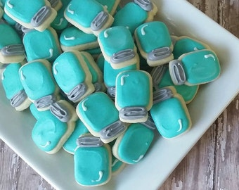 Mini Mason Jar sugar cookies