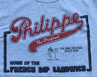 Philippe's restaurant shirt-Philippe the Original-French dip sandwich