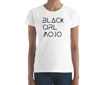 Black Girl Magic Fashionable Summer Women's short sleeve t-shirt