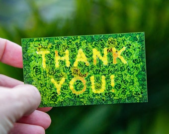 THANK YOU tag, gift tag this envelope