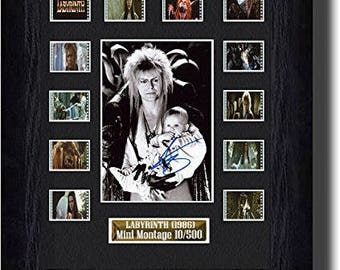 Labyrinth Signed David Bowie (1986) Film Cell movie prop collectable