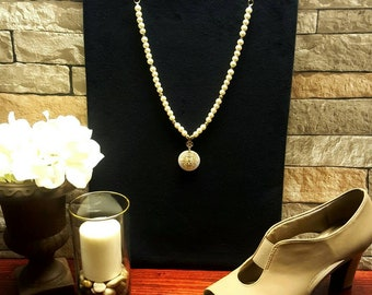 Beautiful Ivory Beaded Necklace