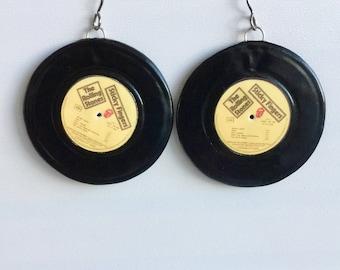 Vinyl Earrings (titanium-ear)