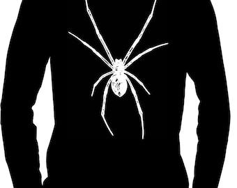 White Spider / Black Widow Men's Long Sleeve T-Shirt