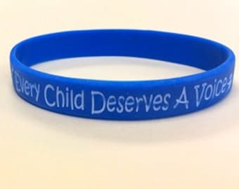 Apraxia Awareness Wristbands, Children's bracelet, adult bracelet