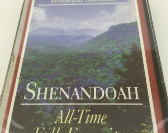 Shenandoah All Time Folk Favorites Vintage Music Audio Cassette Tape 1996 Readers Digest KRS-031/A1 Sealed UnOpened Beautiful Melodies