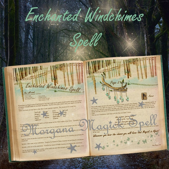 Enchanted Windchimes Spell