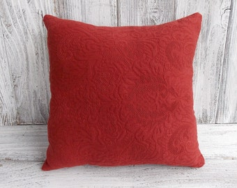 Pillow cushion Ralph Lauren designer fabric, stuffed throw cushion for home decor