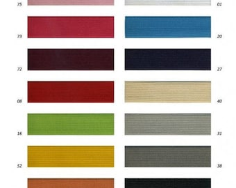 Elastic Ribbon 10 mm x 2 m 14 colors