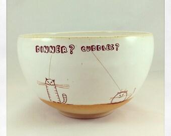 Doodle Cats Bowl