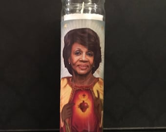 Maxine Waters Feminist Prayer Candle
