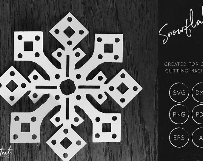 Snowflake SVG / DXF