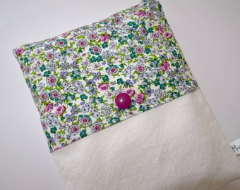 Pretty floral heating pad