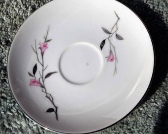 Cherry Blossom by Fine China of Japan Saucer 6 in.