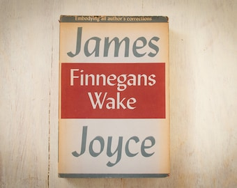 "Finnegans Wake - James Joyce ""Embodying all author's corrections""  (The Viking Press, 1960, Ninth Edition, Hard Cover, Dust Jacket, 628 pgs"