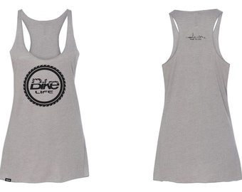 Dare to Live Tank Top - Grey