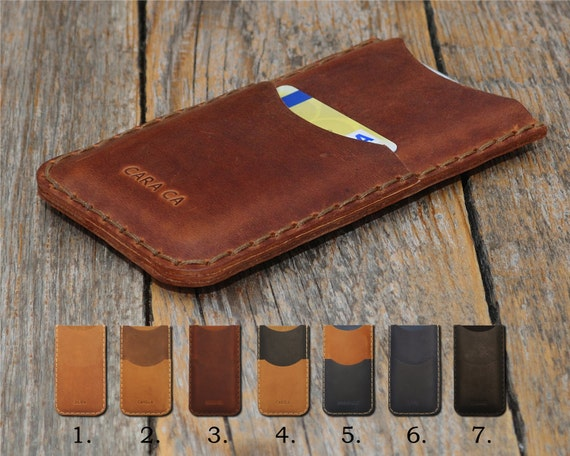OnePlus 6 5T 5 3T 3 X 2 One PERSONALIZED ENGRAVED Case Handmade Cover Genuine Leather Shell Wallet Sleeve Rough Vintage Style Custom Sizes