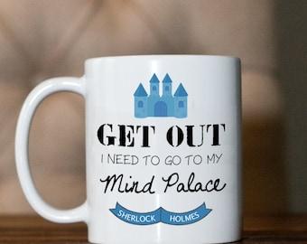 Coffee mug- Sherlock- Mind Palace