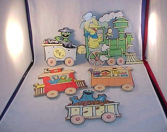 Muppets Train Wall Decor for Children's Room