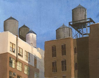 New York Water Towers-2
