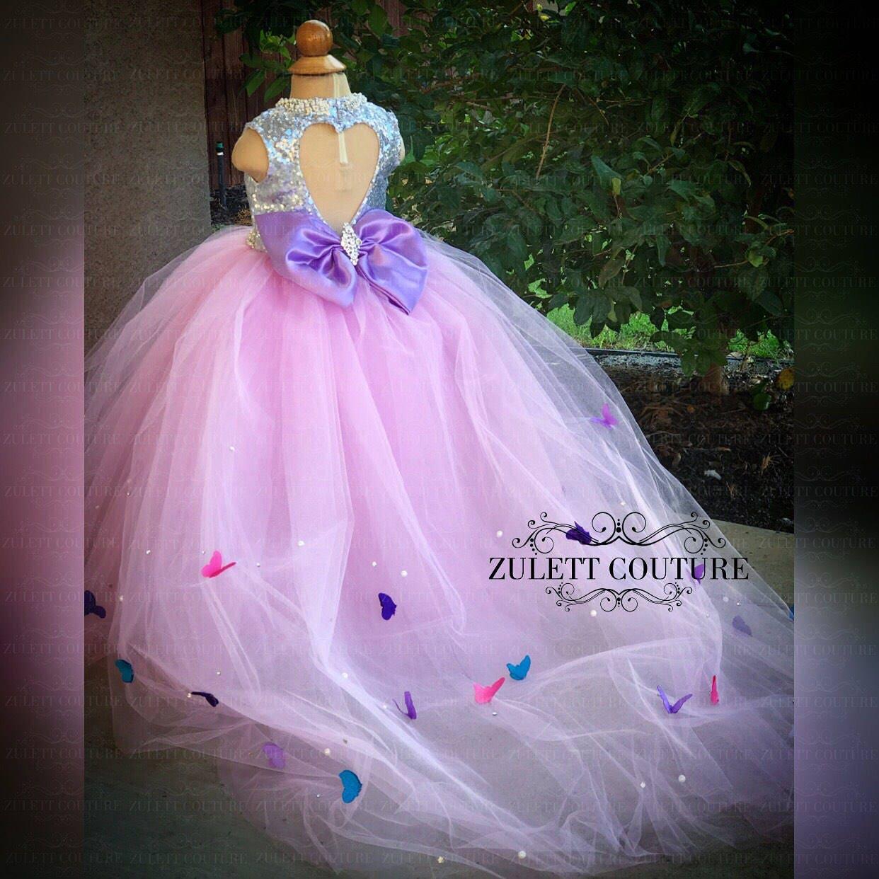 Anticuado Vestido De Novia Lavendar Ideas Ornamento Elaboración ...