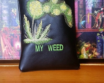 Don't touch my weed pipe pouch