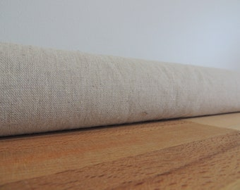 Oatmeal coloured linen draft Stopper. Door or window snake. Draught excluder. House and home accessory.eco energy saver. linen draft stopper