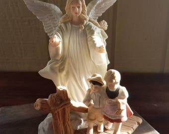 Lefton Guardian Angel Statue
