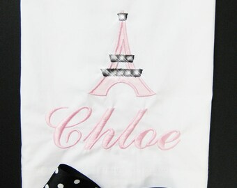 PILLOWCASE from the Paris Pretty Collection