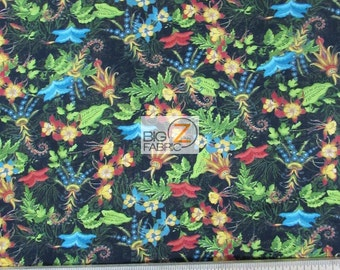"""Tropical Travelogue Wilmington Prints 100% Cotton Fabric 45"""" Wide By The Yard (FH-1815)"""