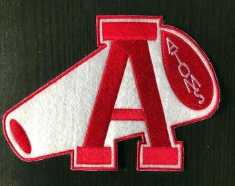 Revenge of the Nerds Adams College Cheerleader Sweater Patch